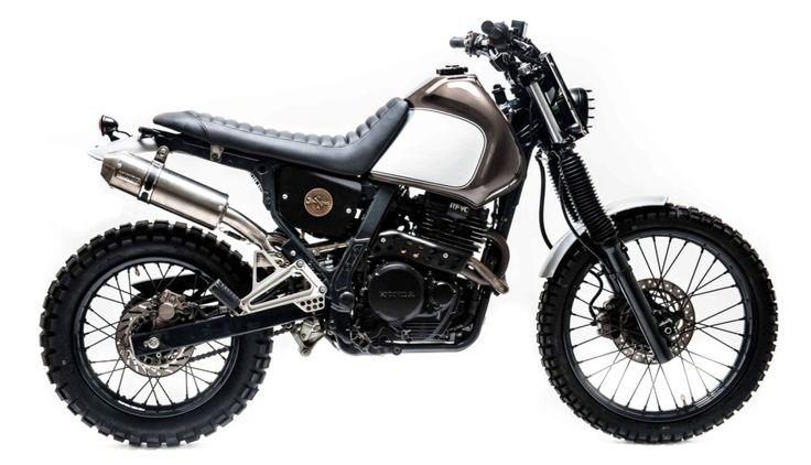 """Honda Dominator 650 # 016 """"Tremore""""                                                                                                                                                                                 More"""