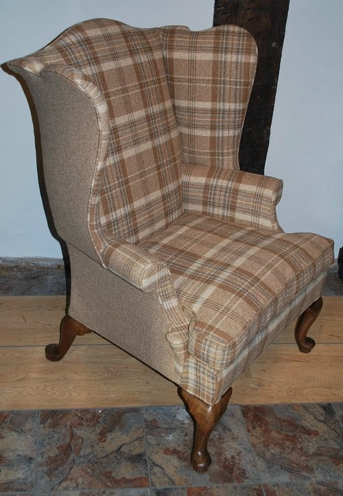 1000 Images About Wing Back Chairs On Pinterest Wool