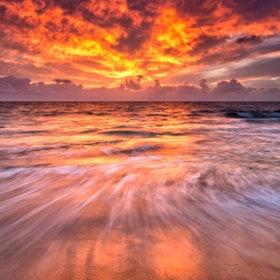 Gorgeous sunset....