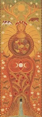 goddess banner mother goddess