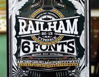 RAILHAM - Great Western TYPEFACE by NACH OH!, via Behance