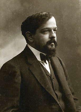 Felix Nadar's photograph of Claude  Debussy, 1908 (http://www.laboiteverte.fr/en/portraits-de-gens-celebres-par-felix-nadar/#)