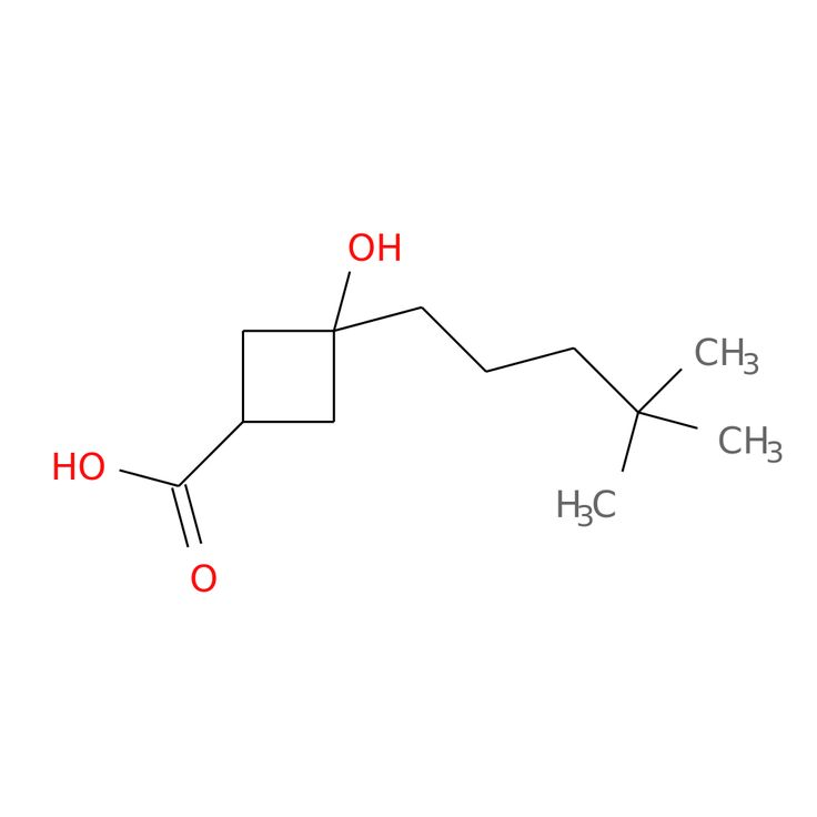 3-(4,4-DIMETHYLPENTYL)-3-HYDROXYCYCLOBUTANE-1-CARBOXYLIC ACID is now  available at ACC Corporation