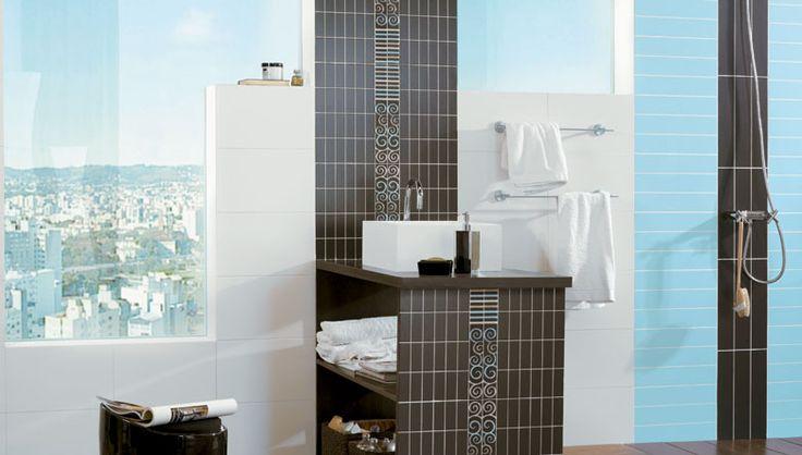 Nuevos modelos en decoraci n ambientes para el ba o con - Pegatinas decorativas para banos ...