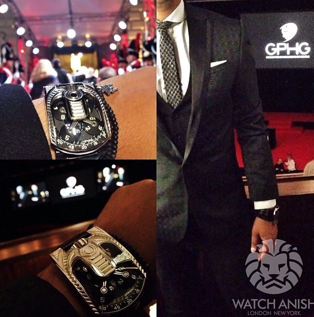 UR-103 Edition Special Art Deco by Watch Anish