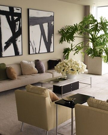 Home Tour: Contemporary New York City Apartment. Modern HomesLiving Room ... Part 78