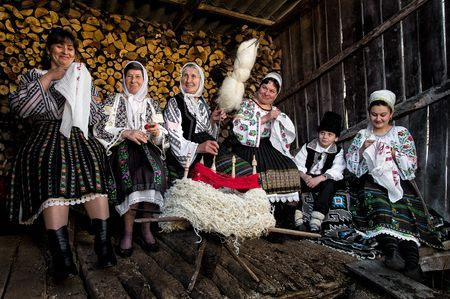 """sezatoare""a traditional Romanian custom Photo by Bogdan Comanescu -- National Geographic Your Shot"