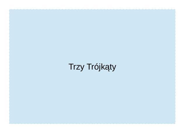 Trzy Trójkąty- Przyczyny ZT by golonkaautyzm via slideshare