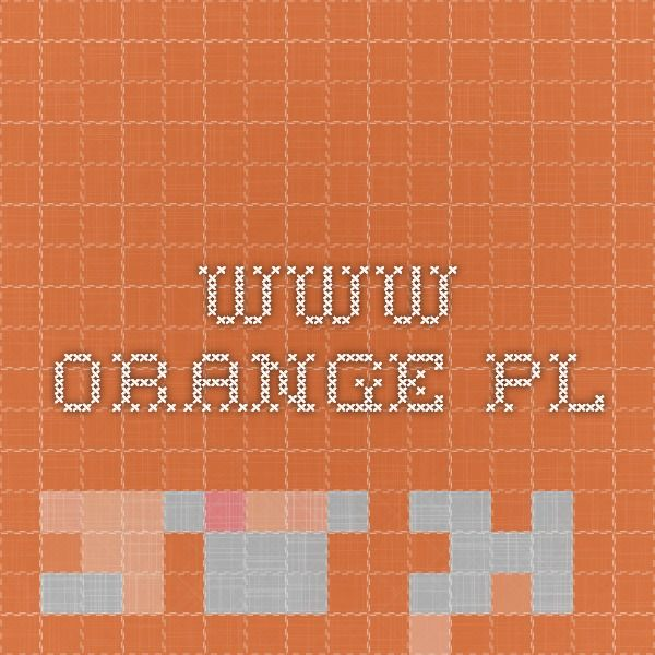 www.orange.pl