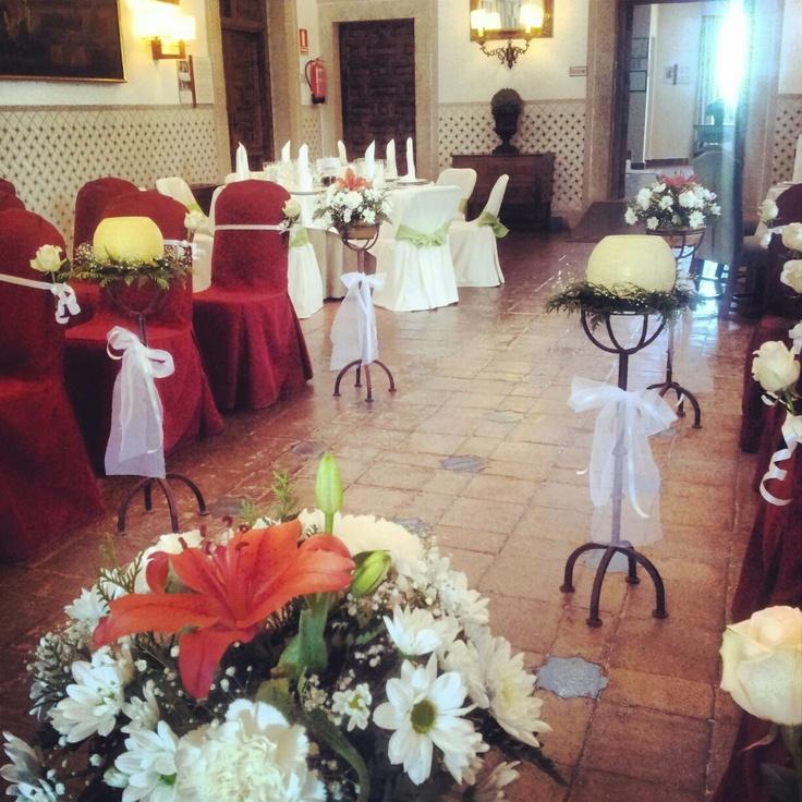 Parador de oropesa openday2013 bodas en paradores bodas for Boda en jardin decoracion