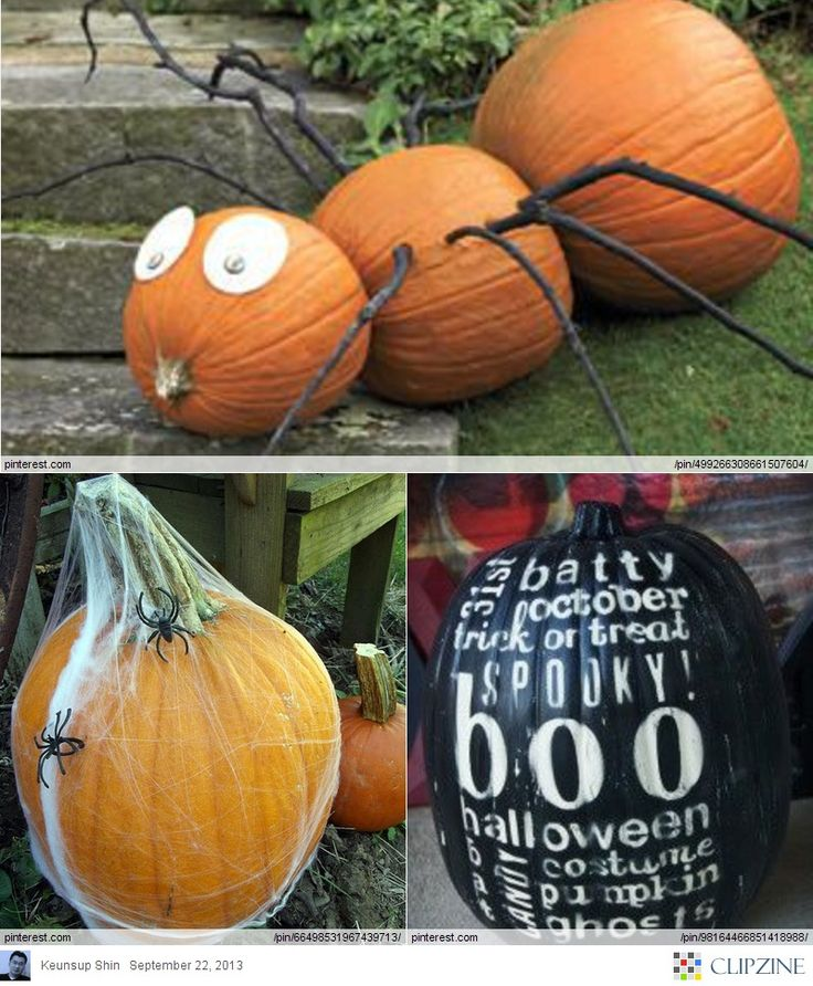 151 best Holiday Fun- Halloween images on Pinterest - cute easy halloween decorations