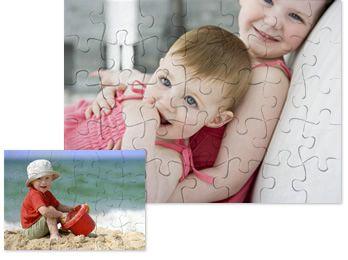 Ett fotopussel är en utmärkt present till både barn och vuxna. Med 30 bitar kan ett fotopussel från smartphoto ramas in och hängas upp efter att det blivit lagt.