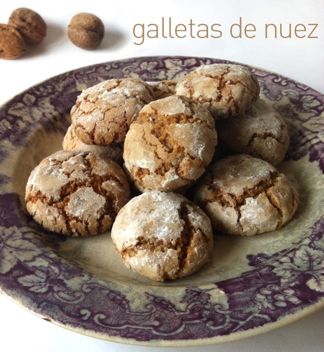 galletas de nuez  Biscayenne: para golosos irredentos