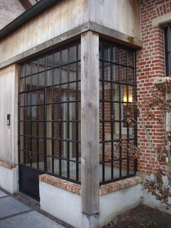 Steel windows by Philip V