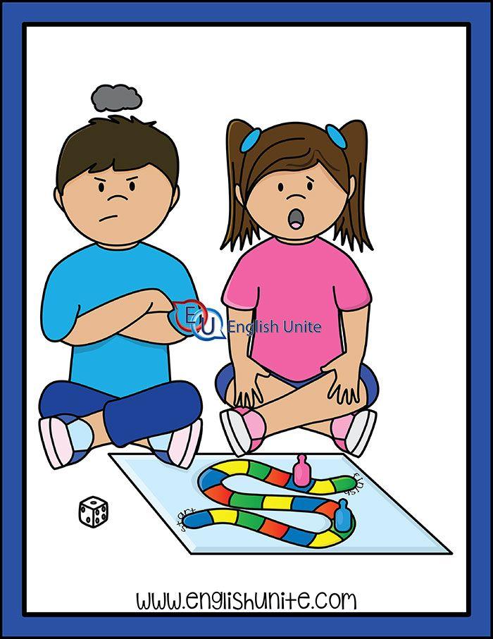 Verb Quit English Unite Clip Art Kids Clipart Quites