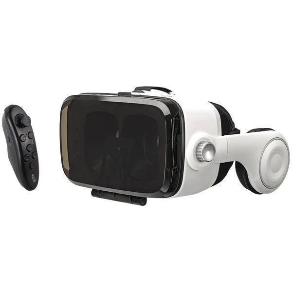 ILIVE IVR77BDL Virtual Reality Goggles with Headphones & Bluetooth(R) Remote