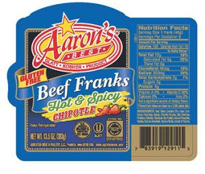 WASHINGTON, DC - Agri Star Meat & Poultry, a Postville, Iowa establishment, is recalling approximately 1,690 pounds of beef products due to misbranding and undeclared allergens, the U.S. Department of Agriculture's Food Safety and Inspection Service (FSIS) announced today.