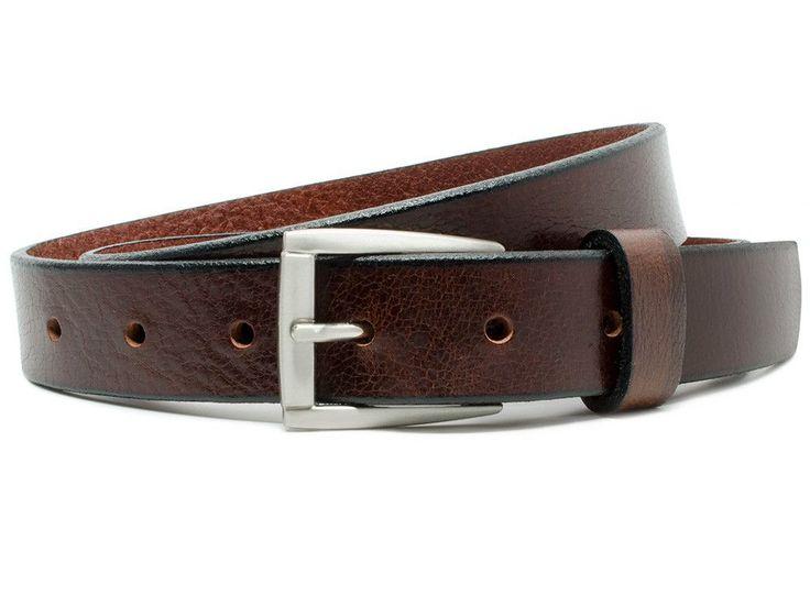 Nickel Free Brown Belt Avery by Nickel Smart™ classic