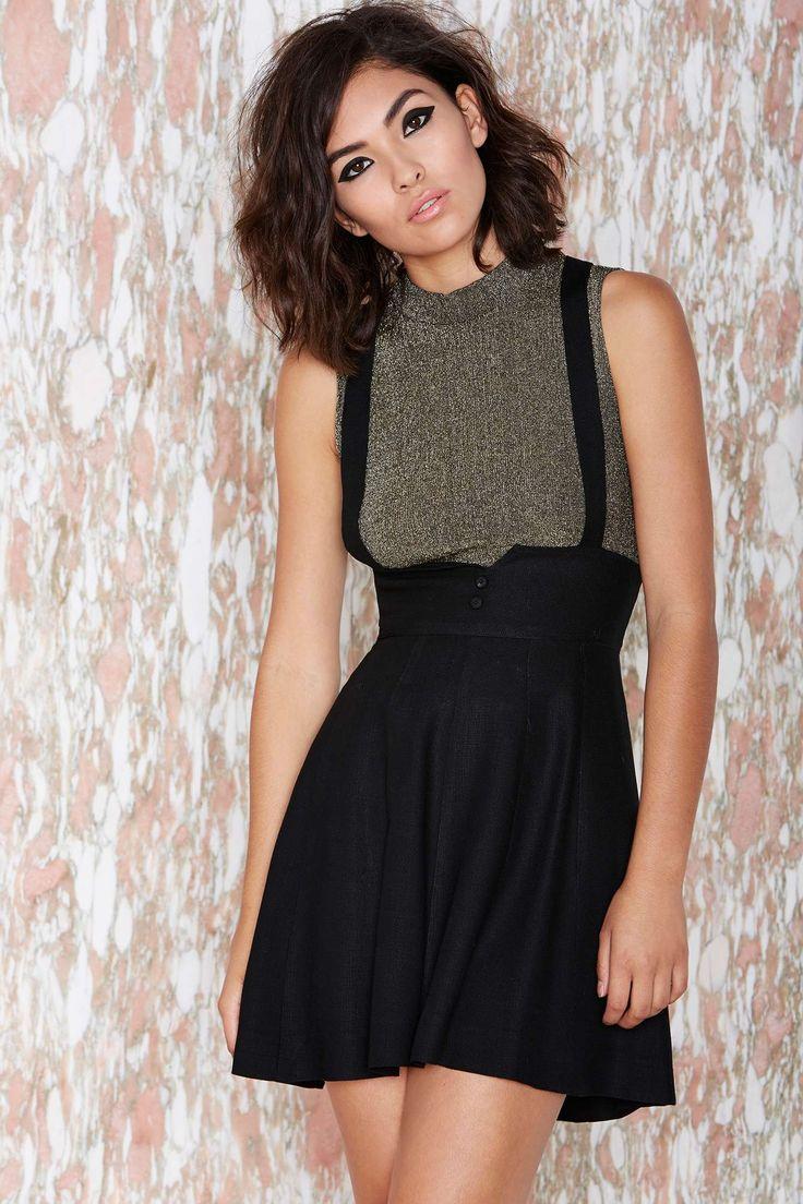 Vintage Suspend Your Disbelief Skirt