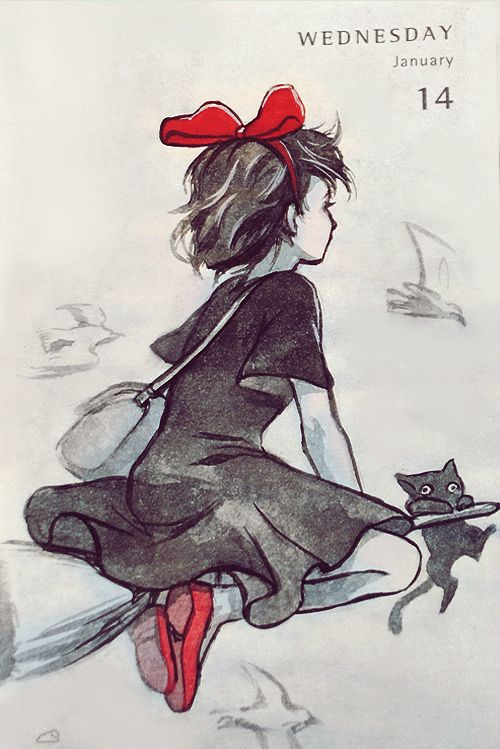 332 best studio ghibli kiki 39 s delivery service images on for Kiki tattoo artist