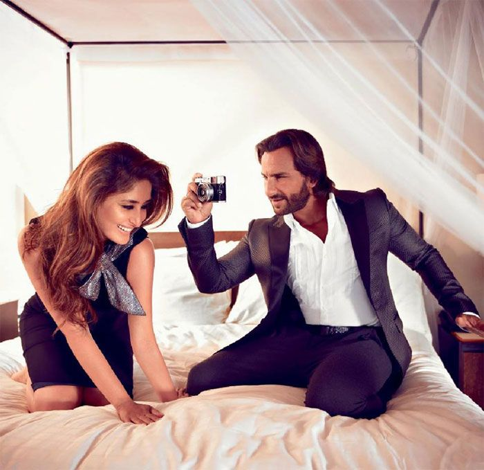 Saif can't just stop clicking his lovely wife Kareena. (This image was posted on Facebook by Bollywood's Biggest Fans Club - BBFC)