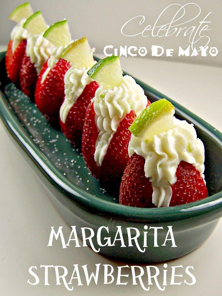 Margarita Strawberries. Awesome Recipe from Olla-Podrina