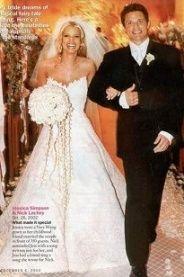 Jessica simpson wedding dress to nick lachey