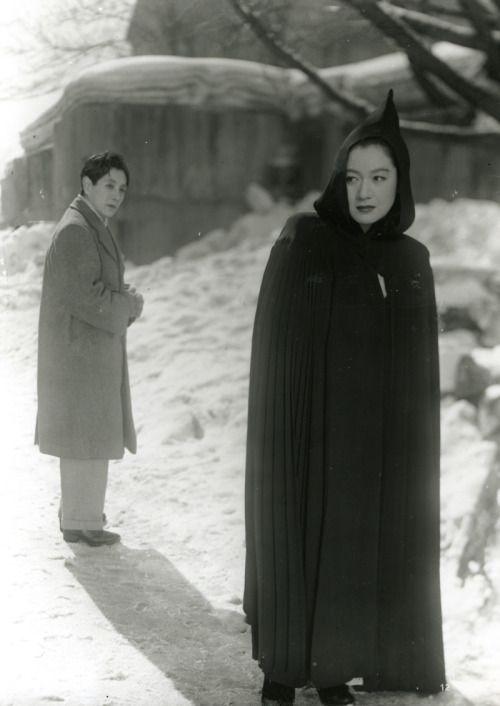 Masayuki Mori and Setsuko Hara in Hakuchi / The...