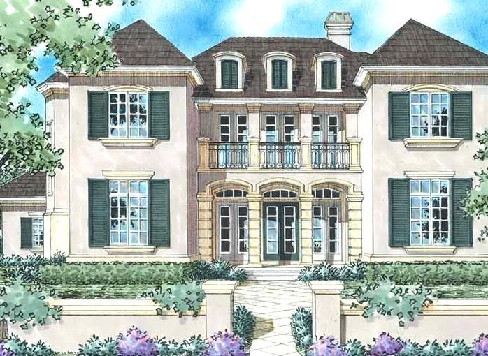 Eplans French Country House Plan The French Manor 3578 Square Feet And 5 Bedrooms In 2020 French Country Style Country Style House Plans French Country House Plans