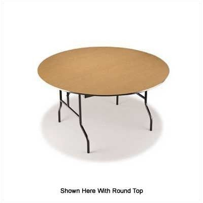 """Midwest Folding 524EF 24"""" x 60"""" Plywood Core Seminar Table by Midwest Folding. $196.99. Midwest Folding 524EF EF Series tops are constructed of solid, 3/4"""" thick, AC grade, exterior glue plywood, surfaced with high pressure plastic laminate and backed with a phenolic sheet to prevent moisture penetration. Features: -Wishbone style legs Specifications: -Measures 30"""" H x 24"""" W x 60"""" L -Choose metal finish, laminate color and molding color"""
