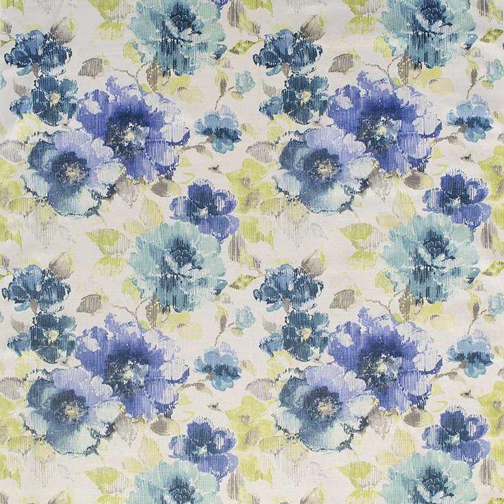 Warwick Fabrics : FINCHLEY, Colour BLUEBELL