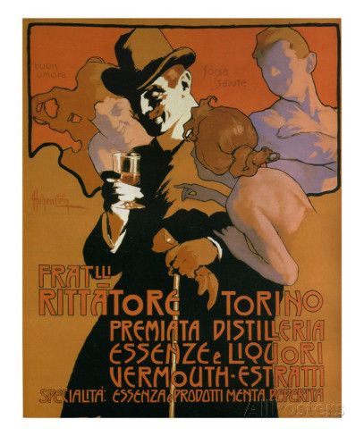 Fratelli Rittatore Torino Posters by Adolfo Hohenstein at AllPosters.com