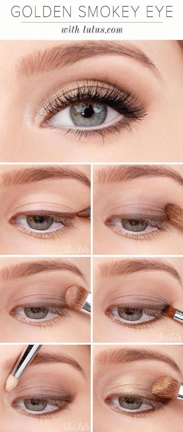 MakeupTutorials für Blue Eyes Lulus Anleitung Golden