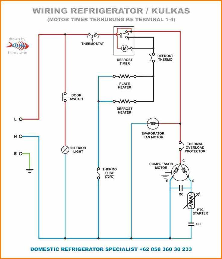 Refrigerator Defrost Timer Wiring Diagram Wiring Diagram