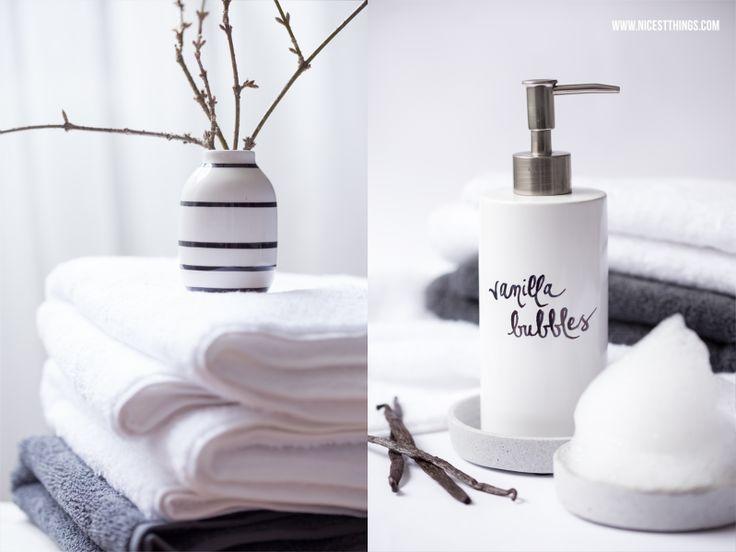 DIY Vanille Badeschaum selber machen