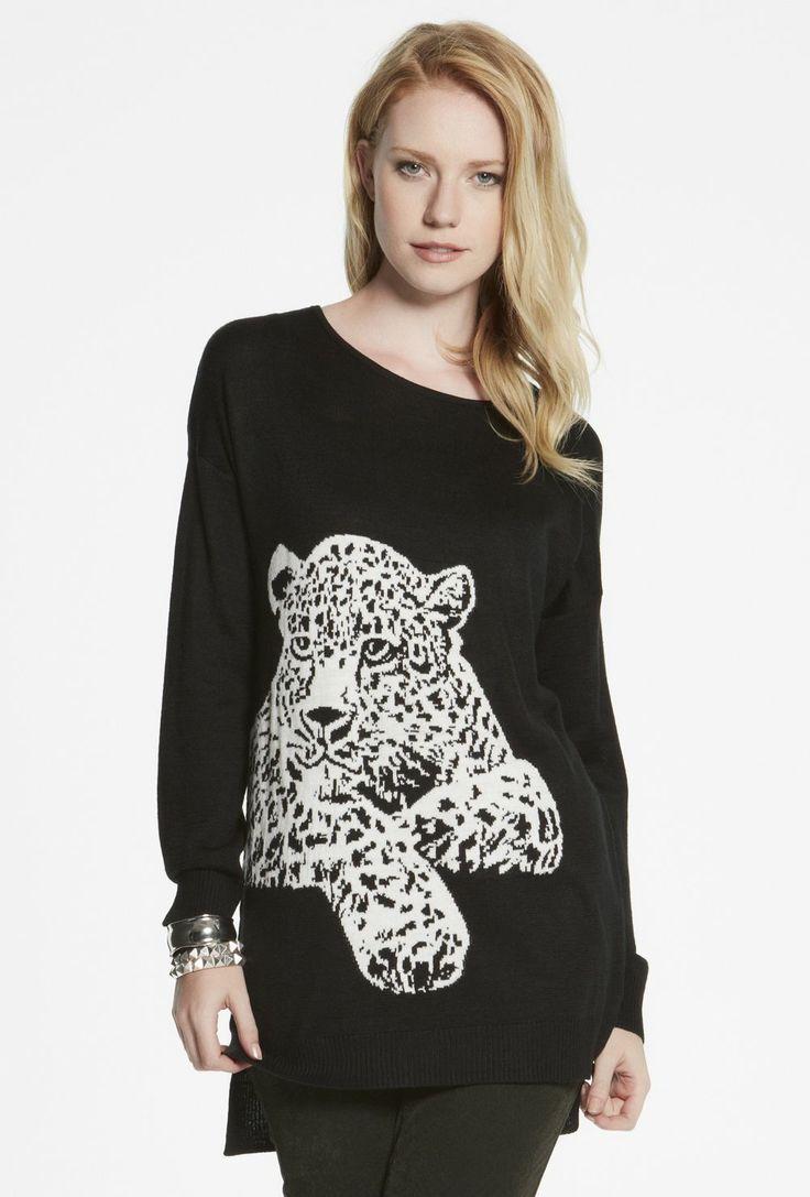 Leopard Cub Sweater $119