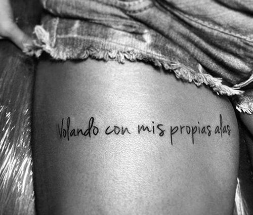 Resultado de imagem para las mejores frases para tatuajes en español