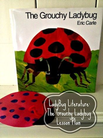Eric Carle Grouchy Ladybug Activities and Lesson Plan - Fun Finds For Families