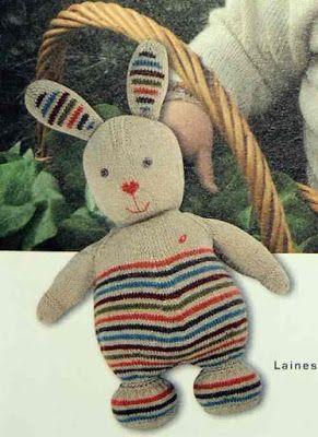 Isabelle Andréo Tricot: Tuto lapin Blatt                                                                                                                                                                                 Plus