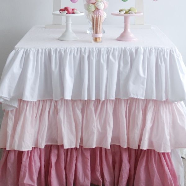 Ruffle Buffet Cloth. For more information Please take a moment to visit our website : https://www.redplumlinen.com.au/