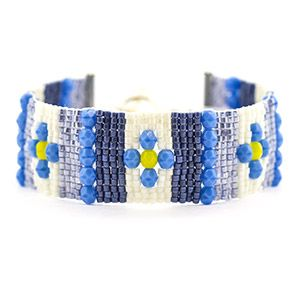Beauty in Blue Bracelet