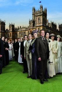 downtown abbey, a few people at work mentioned it, i watched a bit and it's like a soap opera i can't stop watching the drama!