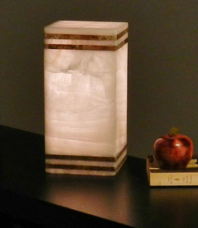Red Alabaster Stone : Images about onyx stone lamp alabaster on pinterest