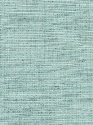 Phillip Jeffries 'Manila Hemp' in Silver Blue (I can think of so many places this would look gorgeous)