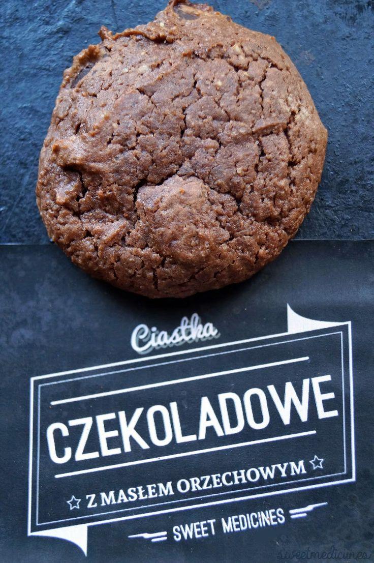 Ciastka Czekoladowe z Masłem Orzechowym