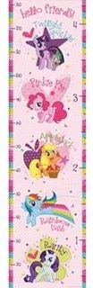 My Little Pony Growth Chart Wall Decal by WallPops - Contemporary - Kids Decor - by Kohl's