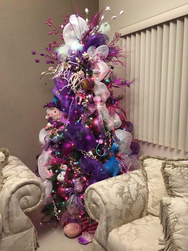 M s de 25 ideas incre bles sobre pinos de navidad - Decoracion para arboles navidenos ...