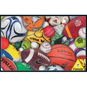 """Piatnik 5690 - Puzzle de 1000 piezas diseño """"Pelotas deportivas"""" [Importado de Alemania]: Amazon.es: Juguetes"""