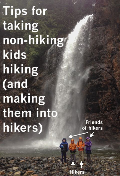 Taking non-hiking kids hiking (and making them into hikers) - http://moosefish.com
