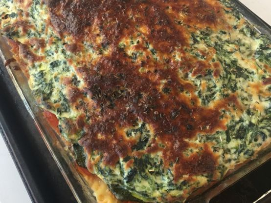 Make and share this Vegetarian Lasagna recipe from Food.com.